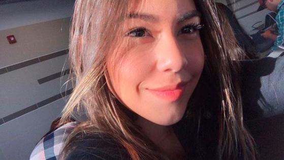 Valentina González Medina, de 21 años, víctima.