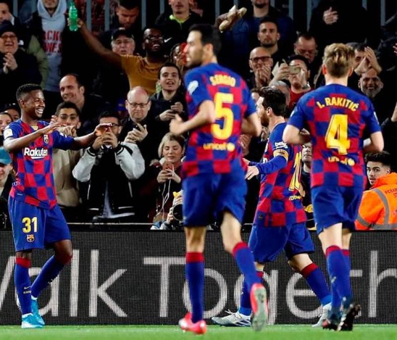 La conexión Messi y Ansu Fati, letal en un Barcelona a ráfagas | EL UNIVERSAL - Cartagena