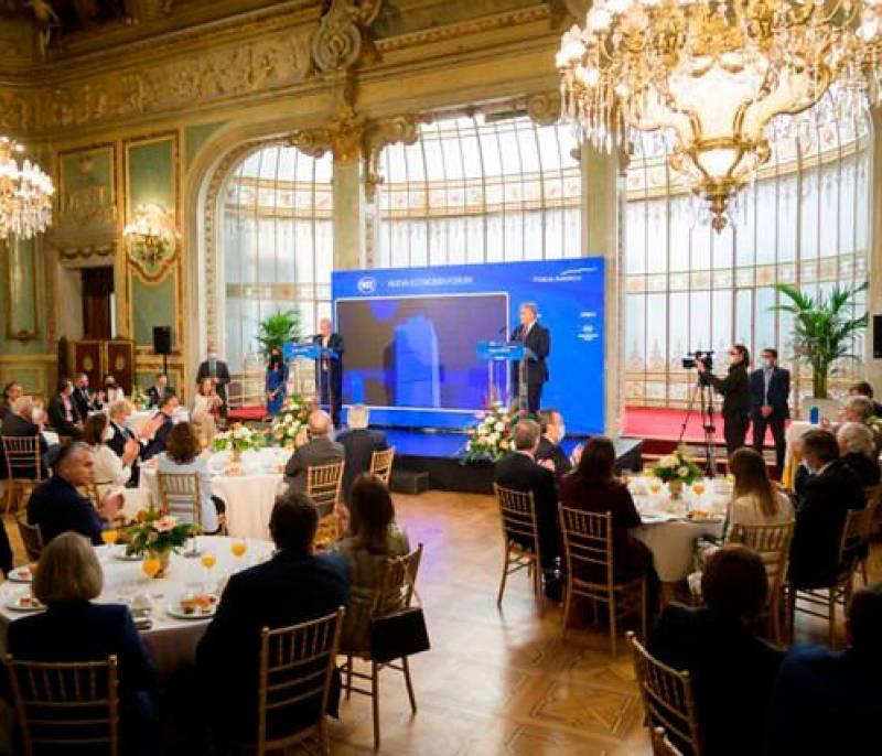 ¿Cómo va la gira del presidente Iván Duque por España?