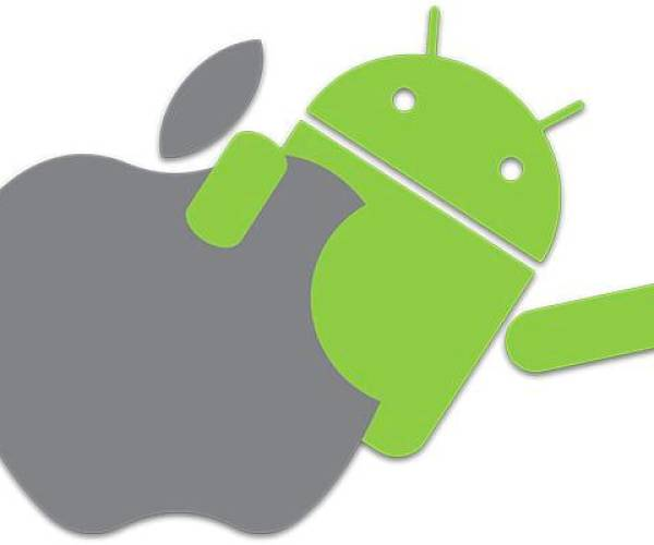Imagen Apple-Android