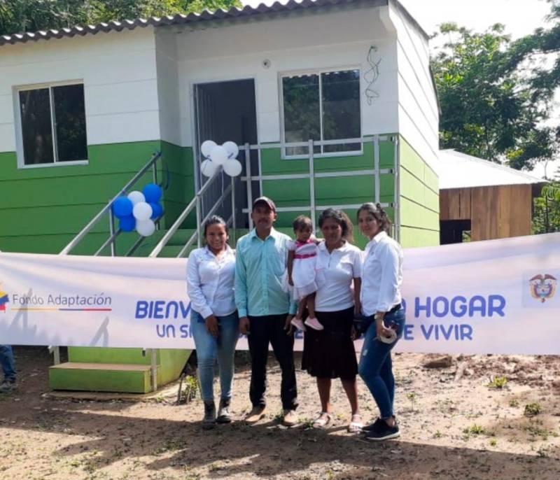 Fondo de Adaptación entregó 31 viviendas en San Marcos - El Universal - Colombia