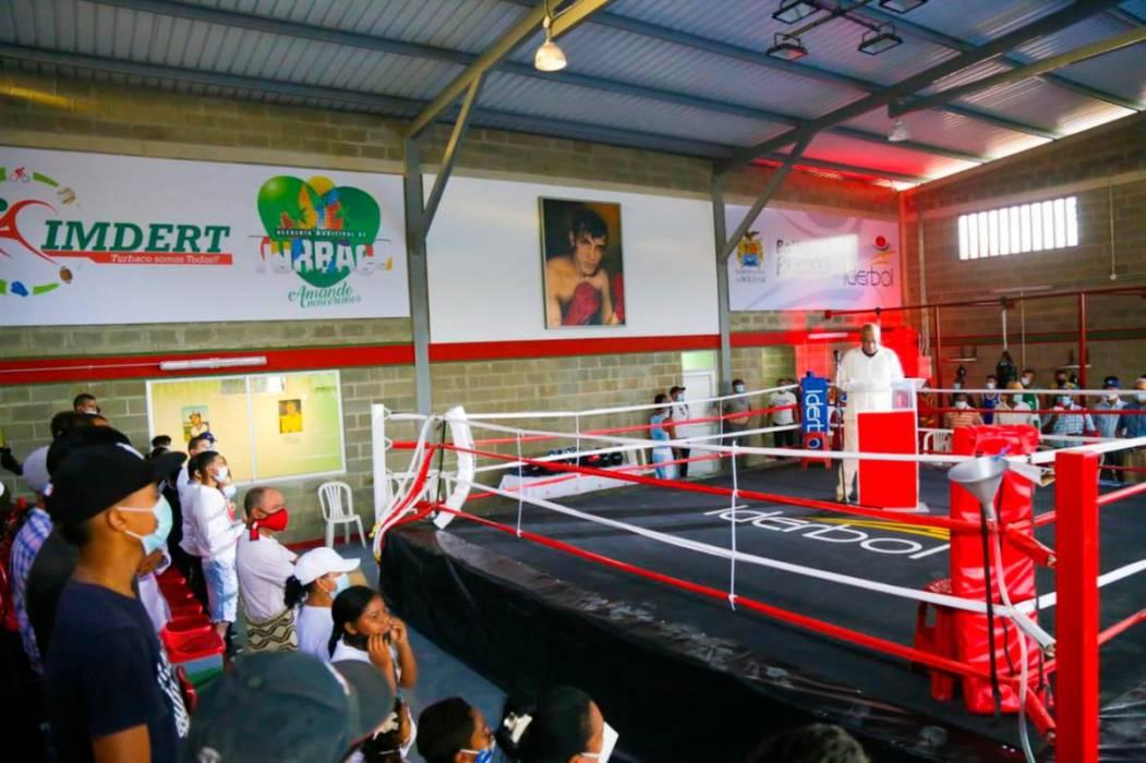 Turbaco tiene nuevo gimnasio de boxeo y pone a volar sus sueños | EL  UNIVERSAL - Cartagena
