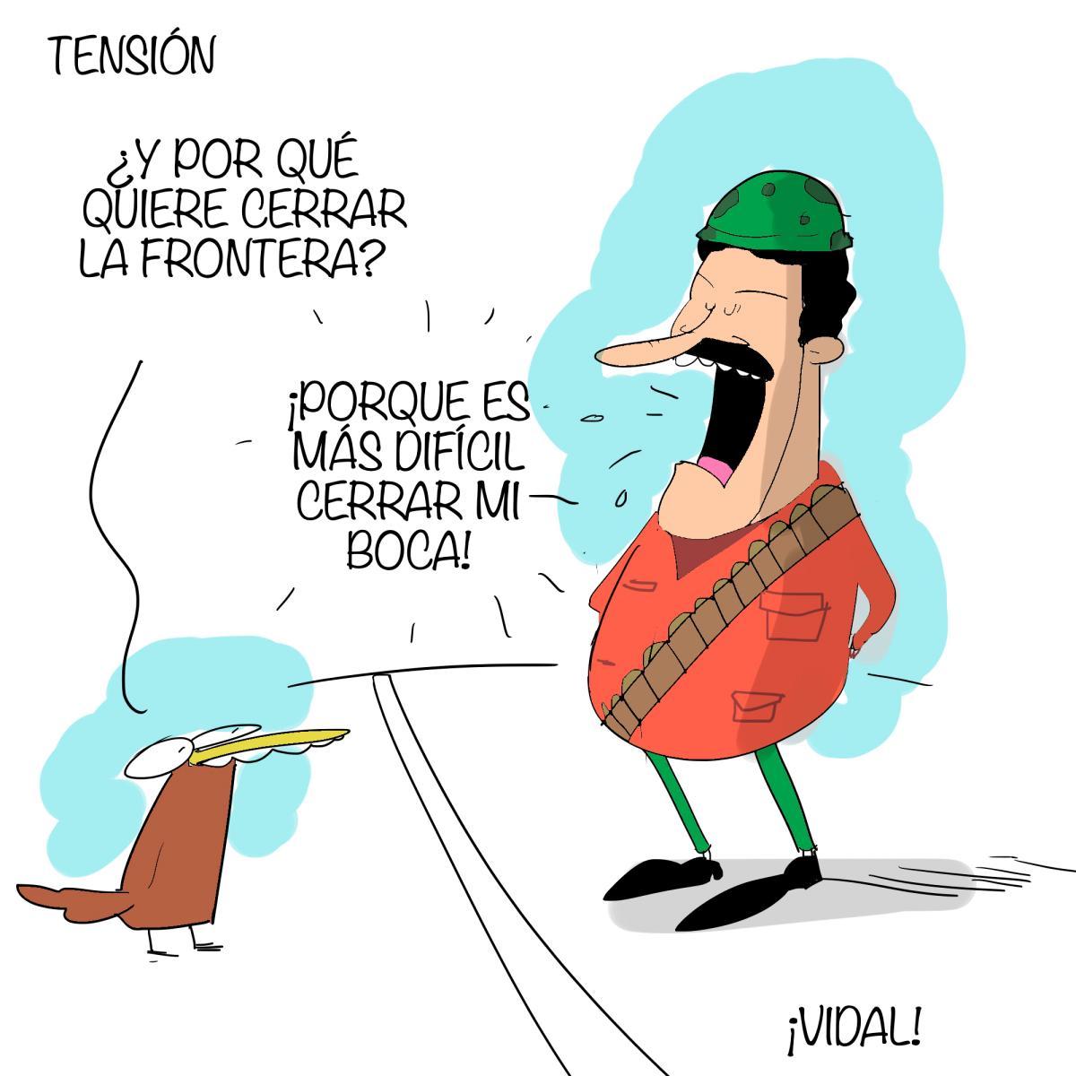Caricatura 11 de septiembre de 2019