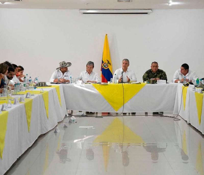 ELN anuncia paro armado porque está desesperado: Duque   EL UNIVERSAL - Cartagena