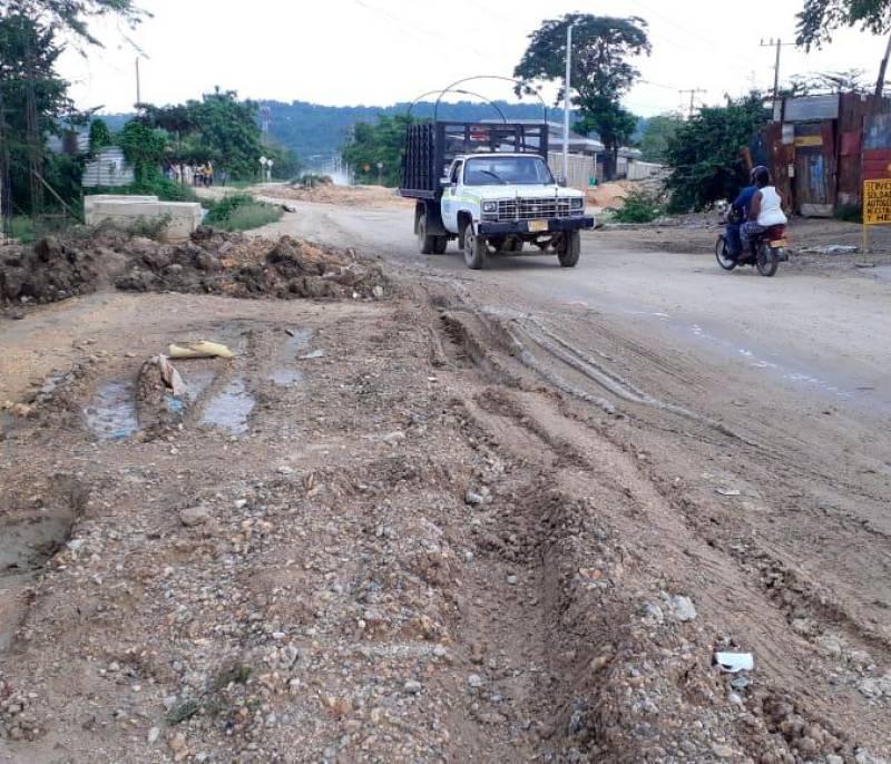 Habitantes de Policarpa exigen pavimentar vía | EL UNIVERSAL - Cartagena - El Universal - Colombia