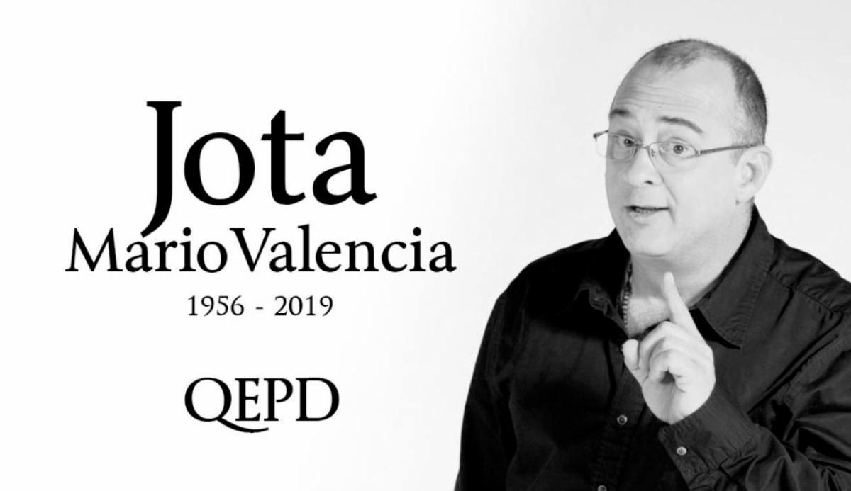 [Video] Adiós Jota Mario Valencia, el presentador de Colombia