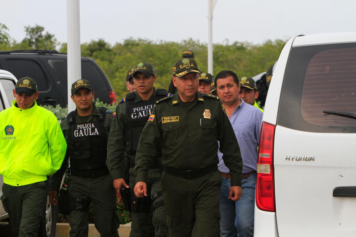 El director del Gaula coordinó los operativos que terminaron ayer con la captura de los cinco presuntos responsables de la desaparición forzada de los dos hermanos en marzo pasado.