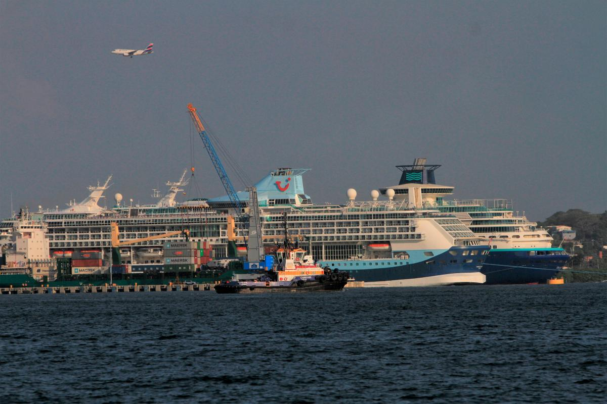 Cartagena atraviesa una temporada alta de cruceros. //julio castaño- el universal