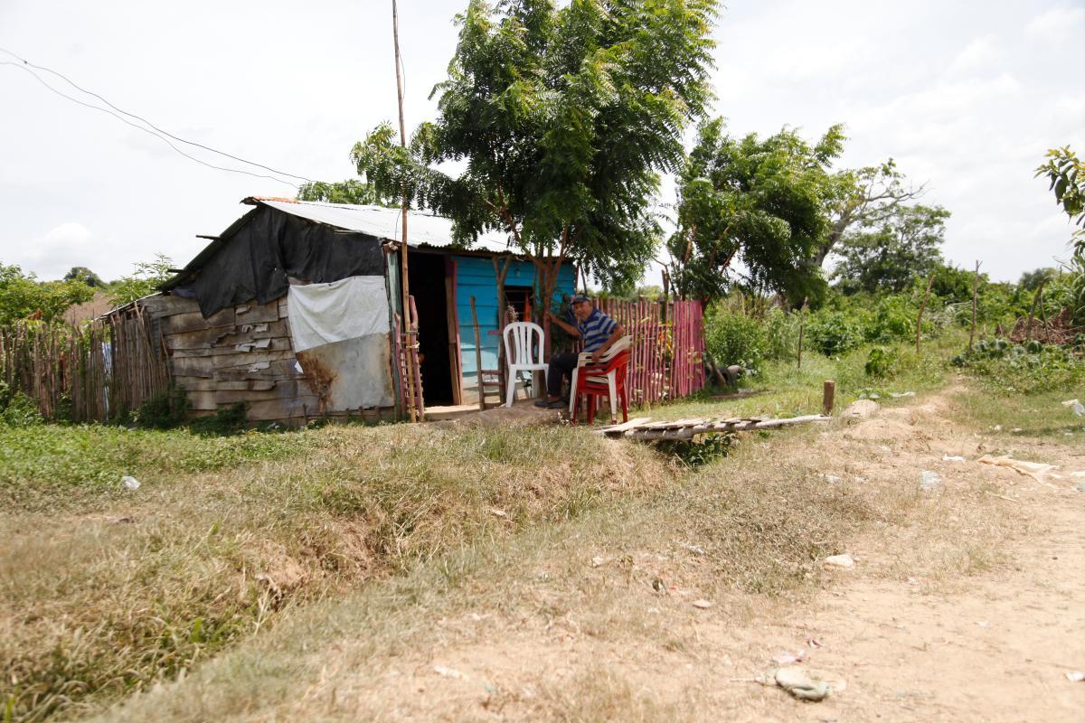 El asesinato ocurrió el martes en la noche en una humilde vivienda de Villanueva.