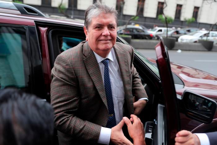 Expresidente peruano Alan García