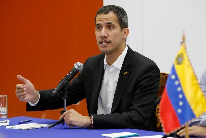 El jefe del Parlamento, Juan Guaidó, reconocido como presidente interino de Venezuela por más de cincuenta países.//EFE