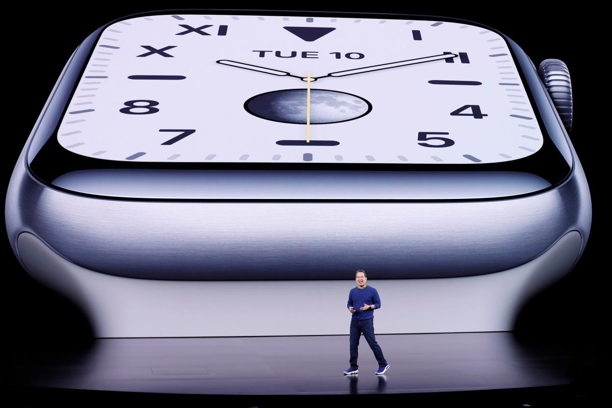 Apple presenta Watch Series 5, con una pantalla que permanece siempre visible