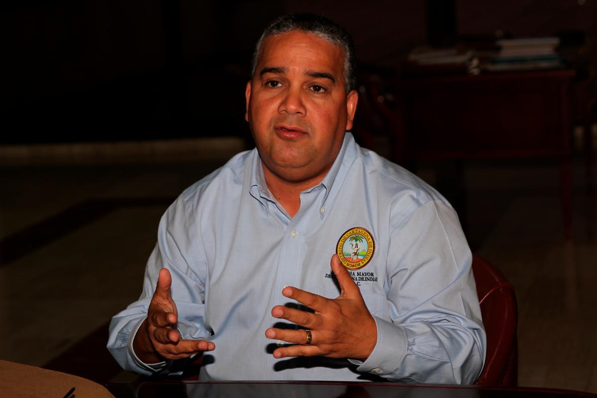 Pedrito Pereira fue encargado como alcalde de Cartagena el 20 de septiembre de 2018.// óscar Díaz- EL uNIVERSAL