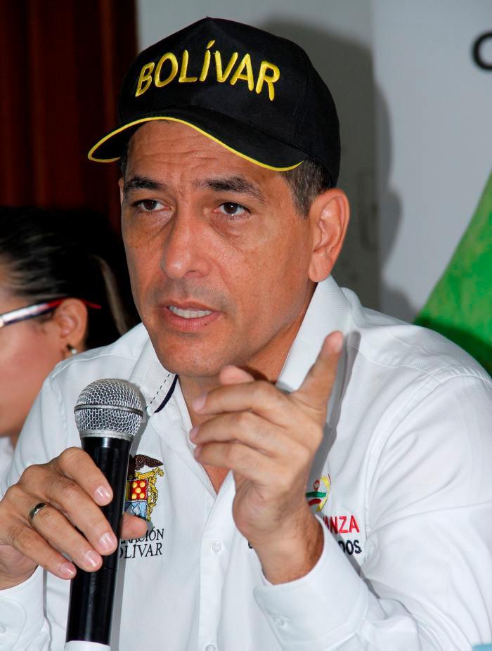 Dumek Turbay, gobernador de Bolívar.