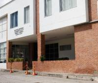 Instituto de Medicina Legal, en Zaragocilla.