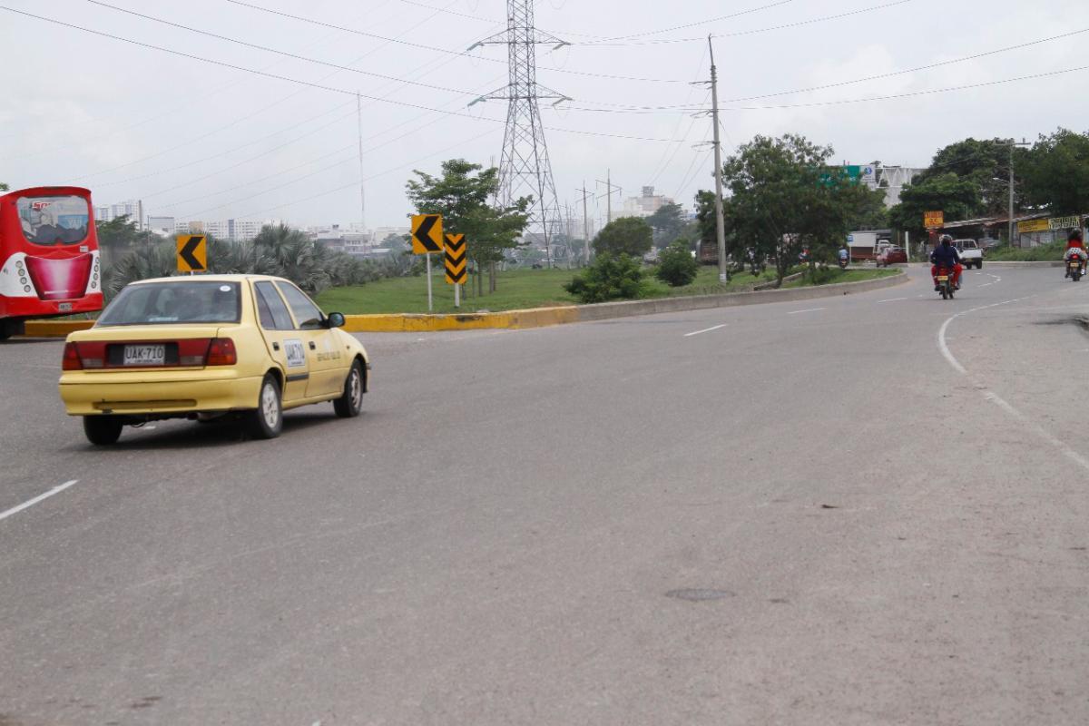 El hecho ocurrió en la rotonda del barrio El Pozón, en La Cordialidad.