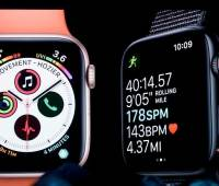 El CEO de Apple, Tim Cook, habla sobre Apple Watch en la Conferencia de Desarrolladores de Apple Worldwide en San José, California.//AP