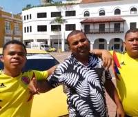 Video: Taxistas aclaran incidente sucedido en la protesta
