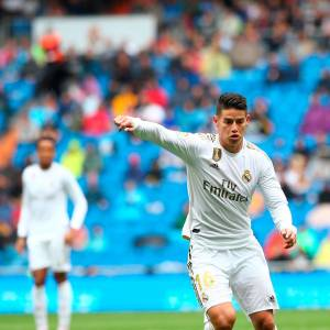 James Rodríguez, titular en el Real Madrid