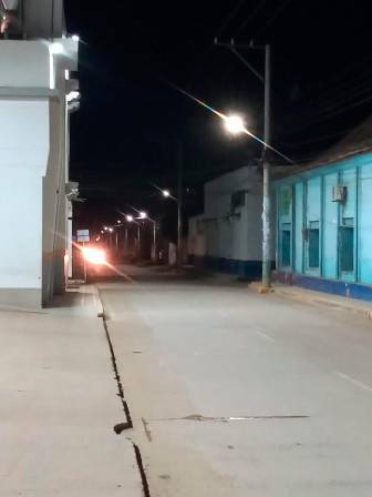 Alumbrado público de El Carmen de Bolívar tiene tecnología LED