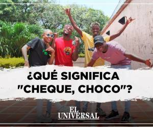 "[Video] Los creadores del ""Cheque, Choco"" explican su significado"