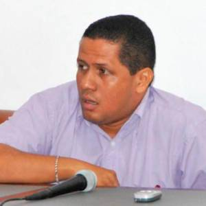 Aldrin Pinedo, director departamental de Riesgo.