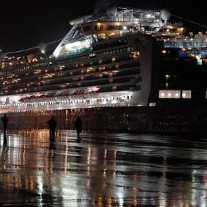 Diamond Princess. EFE FRANCK ROBICHON