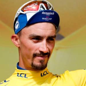 Julian Alaphilippe. // EFE GUILLAUME HORCAJUELO