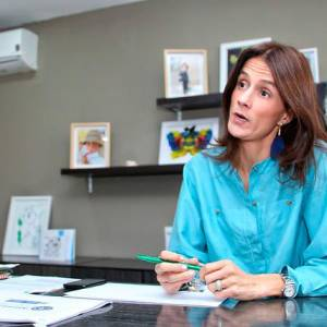 Juliana Pungiluppi, directora del Instituto Colombiano de Bienestar Familiar. Colprensa