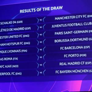 Octavos de final de la Champions League