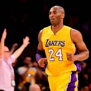 Kobe Bean Bryant disputó veinte temporadas en la NBA, todas ellas en Los Angeles Lakers.