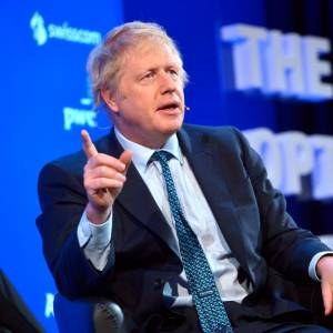 Boris Johnson es el principal favorito para suceder a Theresa May. // EFE