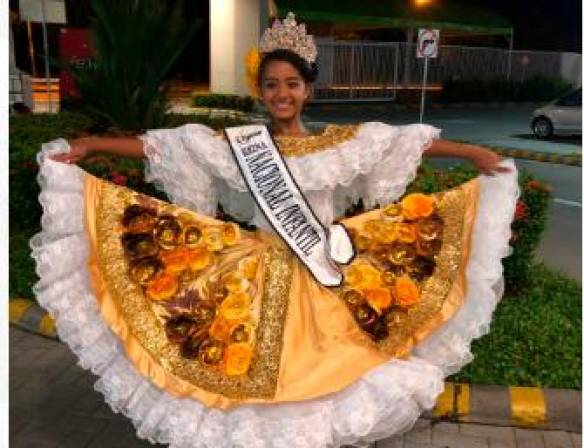 c0669832c4 Victoria Cabrera, de Bolívar, es la nueva Reina Infantil del Sanjuanero  Huilense