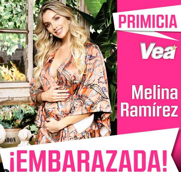 d2a944e96 Así luce Melina Ramírez a sus 4 meses de embarazo