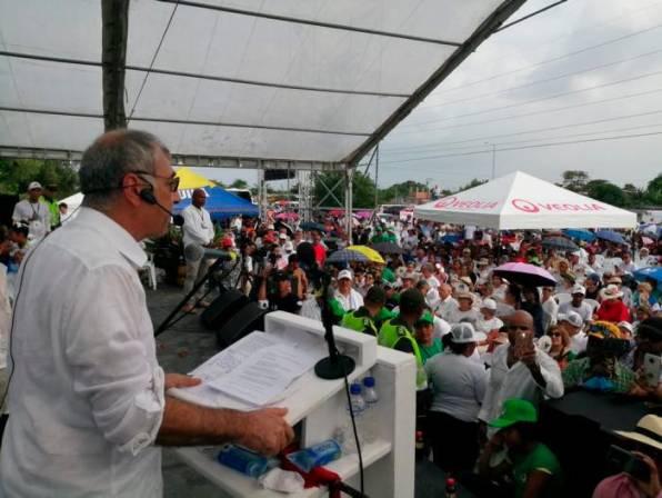 """""""Entre todos vamos a salvar a Cartagena, todos tienen que pellizcarse"""": Dau"""