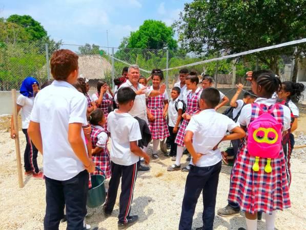 En Macayepos, pedagogía