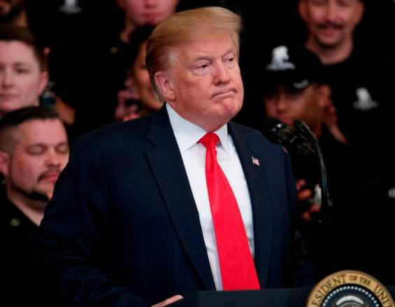 Donald Trump, presidente estadounidense. // EFE