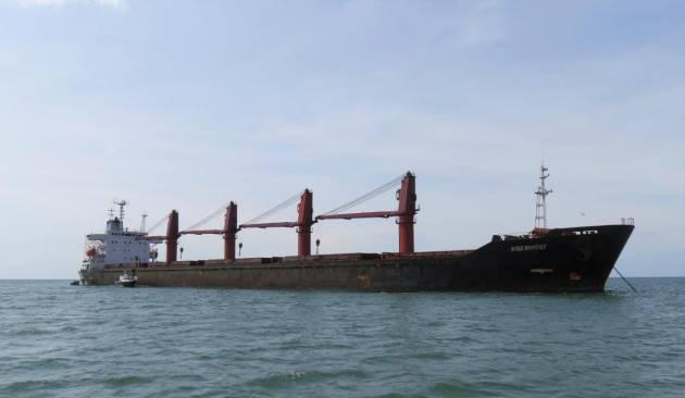 EU incauta barco norcoreano por violar sanciones