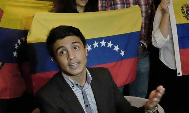 Embajador de Guaidó en Colombia se reunió con Lorent Gómez Saleh