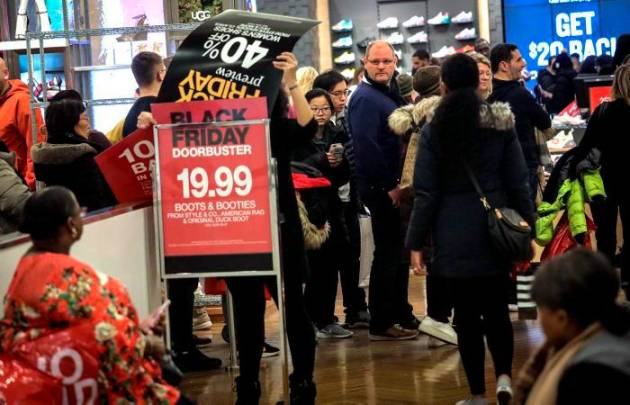Ventas de internet en Black Friday rompen récord
