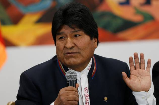 Evo Morales denunció un
