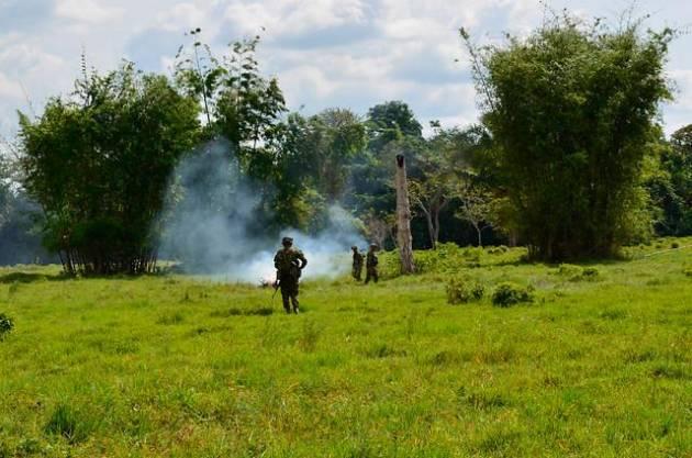 Cinco indígenas fueron asesinados — Masacre en Colombia