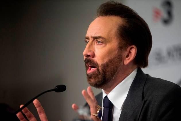 Nicolas Cage se interpretará a sí mismo en película sobre Nicolas Cage