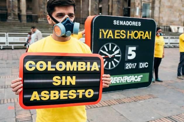 Presidente Duque sanciona ley que prohíbe uso del asbesto en Colombia