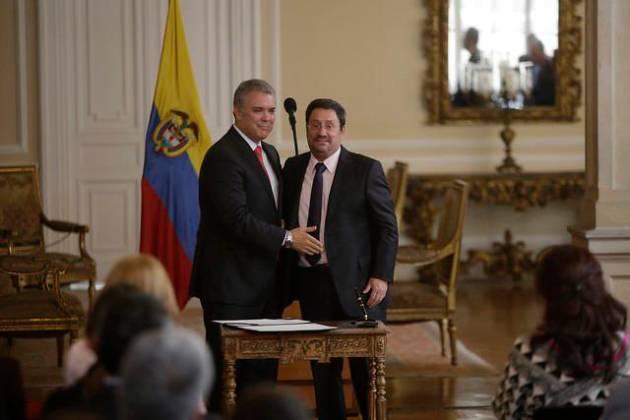 Francisco Santos hablará con el presidente Duque sobre audio con Claudia Blum