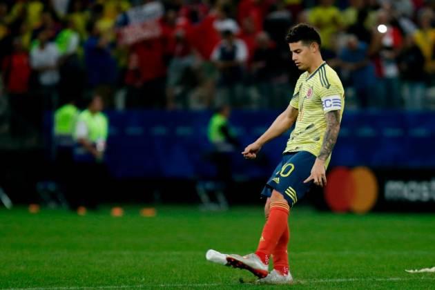 James sale de la concentración de la Selección Colombia