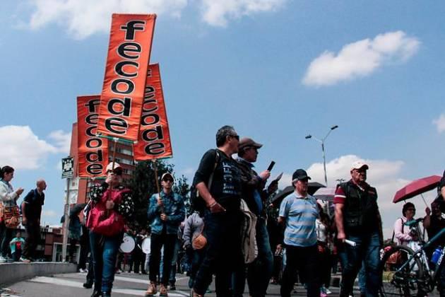 Este martes comienza el paro de maestros en Colombia