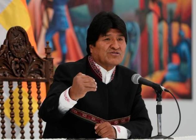 Evo Morales llama a participar