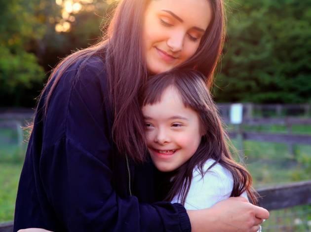 Resultado de imagen para familia sindrome de down