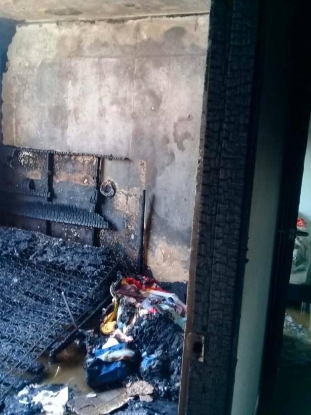 Pánico Y Pérdidas Por Incendio En Terrazas De Calicanto El